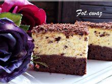 Sernik z czekoladową nutą