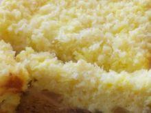 Sernik z gruszkami pod kokosową pierzynką a'la Di