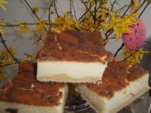 Sernik z polewą czekoladową