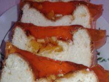 Sernik z pomarańczą i galaretką
