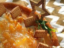 Sernik z ricotty, ze skórką pomarańczową