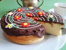 Sernik z serka ricotta  z czekoladą
