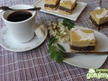 Sero-makowe ciasto