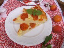 Serowe ciasto z morelami