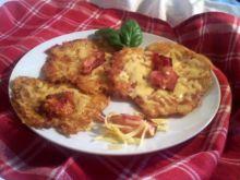 Serowe placki ziemniaczane