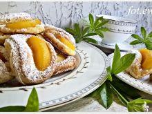 Serowo brzoskwiniowe ciasteczka