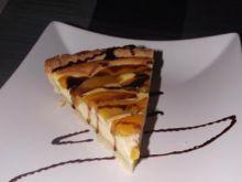 Serowo-owocowa tarta z nutą czekolady