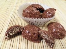 Sezamowe czekoladki
