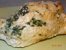 Sezamowe rolady z szpinakiem