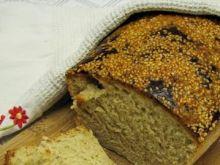 Sezamowo-słonecznikowy chleb orkiszowy