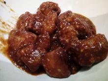 Sezamowy kurczak w słodko - ostrym sosie
