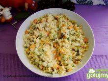 Sezonowy sałatkowy warzywniak