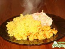 Shoarma(Szałarma) z ryżem