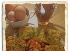 Składane tosty panierowane