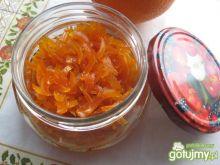 Skórka pomarańczowa z imbirem w syropie
