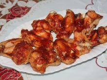 Skrzydełka czosnkowo-pomidorowe