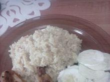 Skrzydełka i ryż z curry