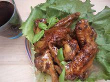 Skrzydełka kurczaka w coca-coli