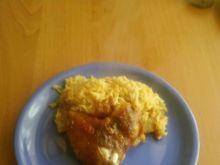 skrzydełka z kurczaka zapiekane w ryżu