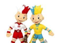 Slavek i Slavko - maskotki EURO 2012