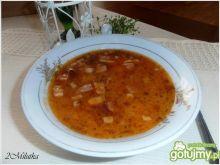 Slawońska zupa fasolowa