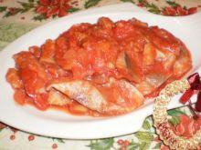 Śledź w dukanowym sosie salsa