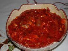 Śledź w pomidorowej salsie