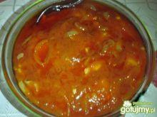 Śledzie w zalewie pomidorowej