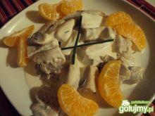 Śledzik w sosie mandarynkowym