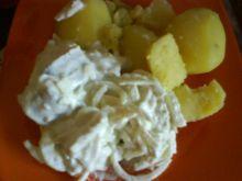 Śledzik w sosie śmietanowo-jogurtowym