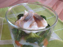 Śledziowa sałatka z warzywami