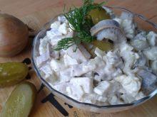 Śledziowa sałatka z ziemniakami