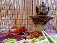 Ślimaczki ze szpinakiem na ostro