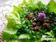 Ślimaki na sałacie