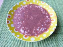 Śliwkowa zupa z ryżem