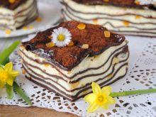 Słodka lasagne z serem