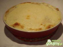 Słodka zapiekanka z kuskusem i serem