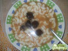Słodka  zupa ze śliwkami
