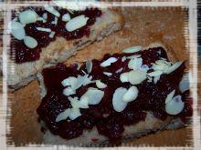 Słodki chlebek żurawinowy z automatu