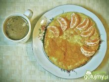 Słodki omlet biszkoptowy