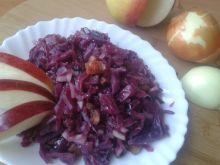Słodko - kwaśna kapusta czerwona do obiadu
