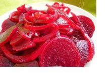 Słodko-kwaśne buraczki z dodatkiem goździków