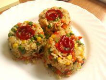 Słodko-kwaśne risotto