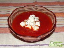 Słodko-kwaśny krem paprykowy z fetą