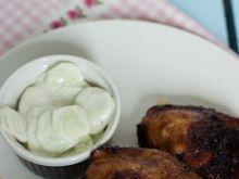 Słodko- ostre grillowane ćwiartki z kurczaka