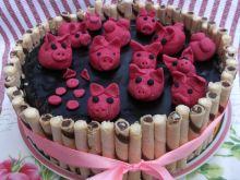 Tort  Świnki w błocie