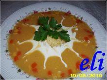 Słoneczna zupa Eli z kaszą jaglaną