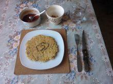 Słoneczny omlet pęczakowy