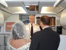 Ślub jak z bajki w przestworzach