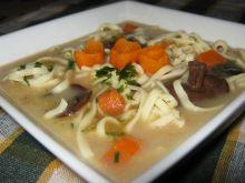 Smaczna grzybowa zupa